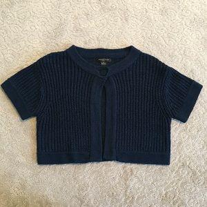 Cute Chunky Knit Crop Cardigan